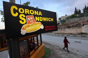 À Bethléem, un «Corona sandwich» pour affronter la crise)