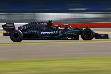 GP des 70ans de la F1: Bottas obtient la pole, Stroll 6e)