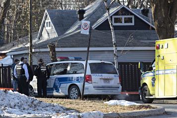 Une mère et ses enfants trouvés sans vie dans l'est de Montréal