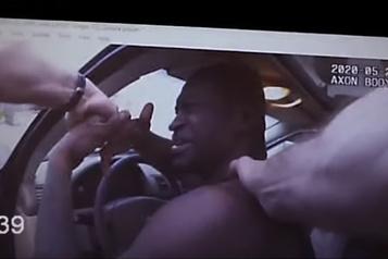 Un tabloïd publie de nouvelles images de l'arrestation de George Floyd)