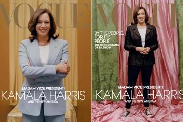 Vogue sort une nouvelle version de son numéro sur Kamala Harris)