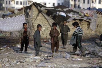 Dix millions d'enfants afghans menacés par la faim)