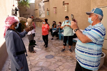 En pleine pandémie, Dubaï attire les touristes fuyant les confinements)