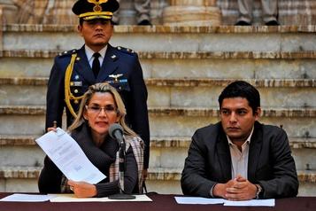 Bolivie: la nouvelle présidente veut convoquer des élections