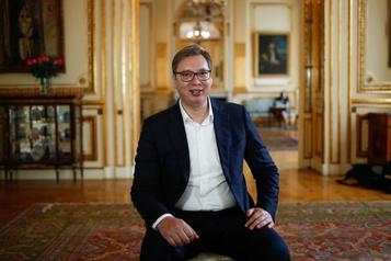 Le président de la Serbie espère devenir entraîneur de basketball)