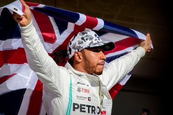 Hamilton «triste et déçu» des propos de Bernie Ecclestone)