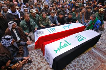 Après l'attentat de Bagdad, des centaines d'exécutions en attente)