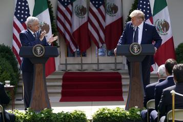Trump loue la «force» des liens entre les États-Unis et le Mexique)