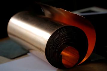 La planète économique Le cuivre, c'estdel'or! )