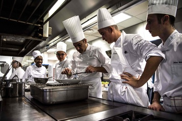 De futurs jeunes chefs soucieux de cuisiner «durable»