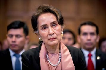 La dirigeante birmane Aung San Suu Kyi réfute les accusations d'un génocide rohingya