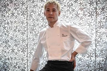 Kei Kobayashi imperturbable face à la frénésie Michelin