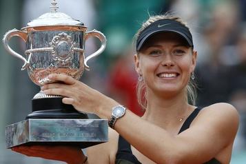 Maria Sharapova annonce sa retraite