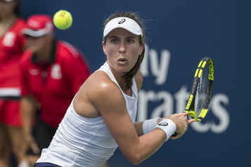 WTA : Jo Konta victime de palpitations cardiaques à Lexington)