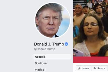 Trump: «Vous êtes le N°1 sur Facebook», a félicité Zuckerberg