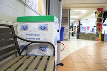 Masques jetables Le ministre Roberge invite les écoles à faire appel aux entreprises de recyclage)