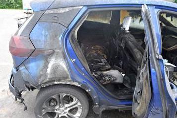 GM conseille de ne pas garer certaines Bolt électriques à l'intérieur)