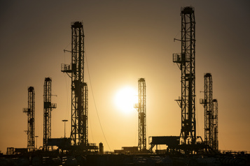 Le pétrole à son plus haut depuis six semaines)