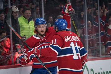 Drouin et Gallagher se rapprochent d'un retour au jeu