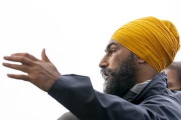 Le NPD va se battre pour les gens, promet Singh)