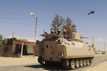 Égypte: deux «djihadistes» tués par l'armée après un attentat)