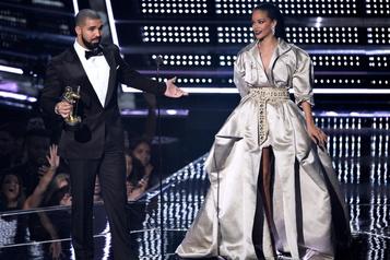 Rihanna à la fête de Drake