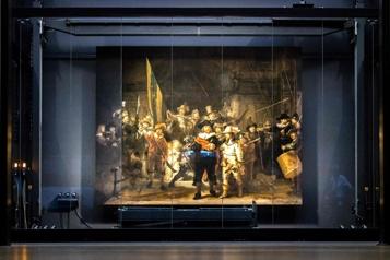 L'intelligence artificielle vole à la rescousse de La Ronde de Nuit de Rembrandt)
