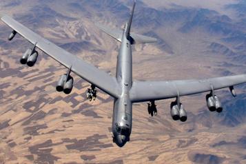 Iran Nouveau survol d'un bombardier américain dans le golfe Persique)