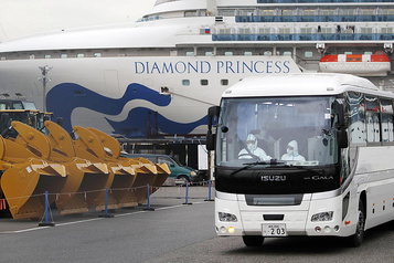Le Japon évacue des passagers âgés du Diamond Princess
