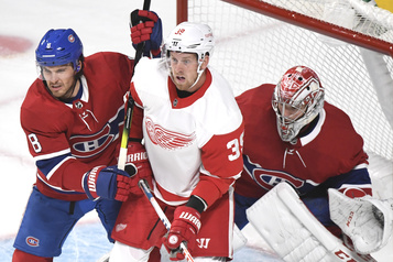 Red Wings c. Canadien: notre couverture en direct