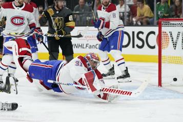 Marque finale (1ermatch) Canadien1- GoldenKnights4)
