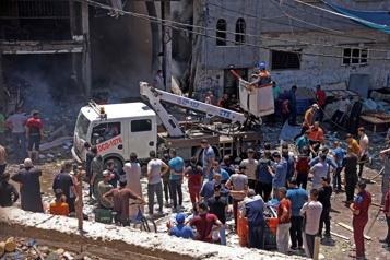 Crise israélo-palestinienne L'Égypte ouvre sa frontière avec Gaza pour évacuer et traiter les blessés)