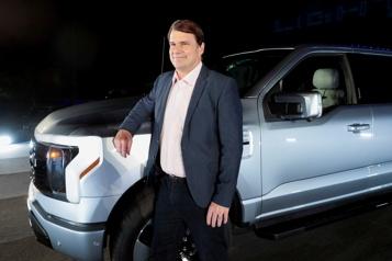 Ford prévoit que 40% de ses véhicules vendus en 2030 seront électriques)