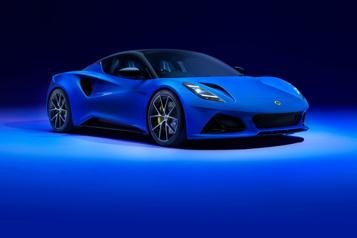 Lotus Dévoilement de lanouvelle Lotus Emira)