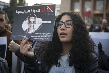 Maroc: deux ans de prison pour un message sur Facebook
