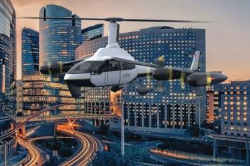 Électrification des transports Jaunt Air Mobility: taxi volant et électrique en vue)