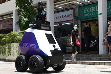 Singapour Des «policiers» robots enrenfort