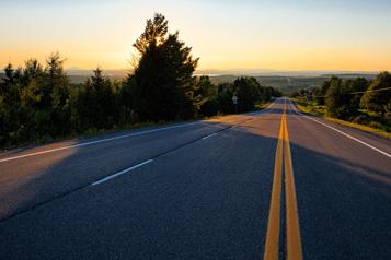 La route des Sommets Balade plus grande que nature)