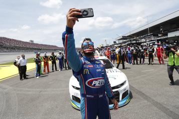 NASCAR: le pilote Bubba Wallace n'a pas été visé par un acte raciste)