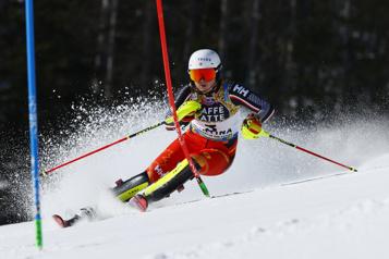 Slalom des Mondiaux de ski alpin Laurence St-Germain se contente d'une 17eplace)