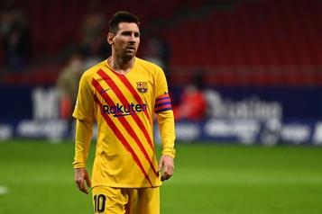 Barcelone donne congé à Messi en Ligue des Champions)