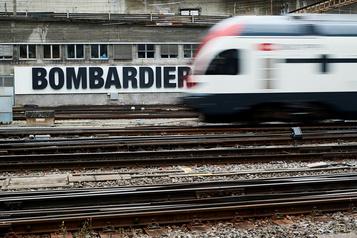 Bombardier recule fortement en Bourse