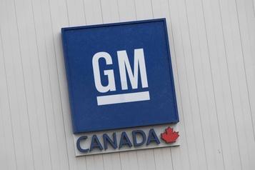 Mises à pied temporaires à l'usine de GM à Oshawa