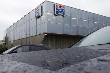 Maple Leaf interrompt les activités d'une usine ontarienne de volaille