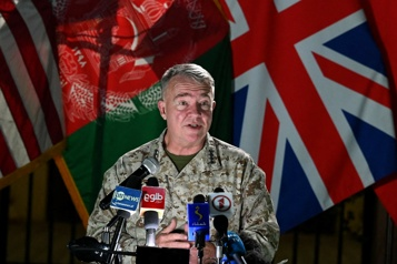 Afghanistan Les États-Unis poursuivront leurs frappes si l'offensive des talibans continue)
