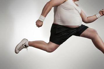 Une perte de poids n'est pas un spectacle