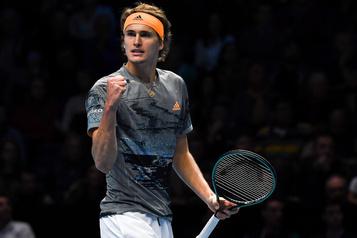 Finales de l'ATP: Zverev signe un gain facile contre Nadal