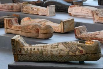 Égypte Des découvertes «majeures» dans la nécropole de Saqqara)