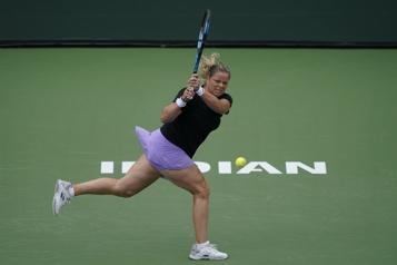 Indian Wells Kim Clijsters éliminée dès son entrée