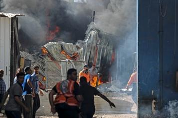 Le conflit Hamas-Israël entre dans sa deuxième semaine)